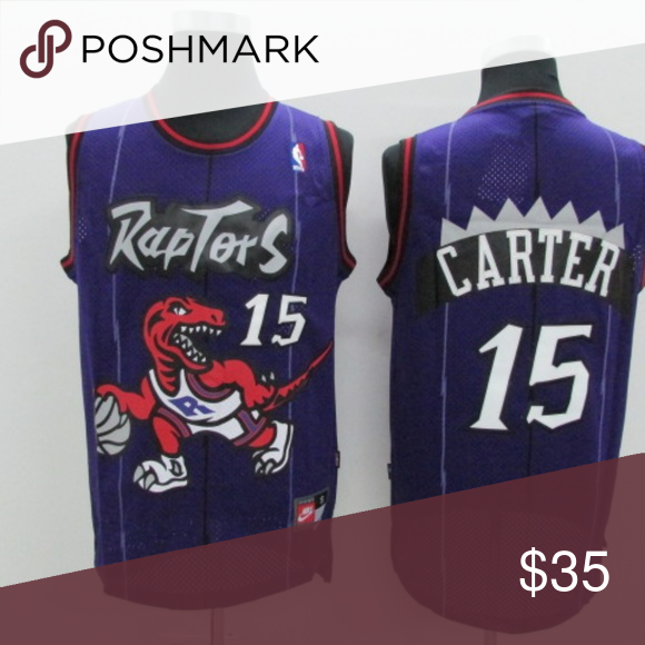 96446ffc Vince Carter Toronto Raptors #15 Throwback Purple Brand new jersey with  tags NBA Shirts Tank Tops
