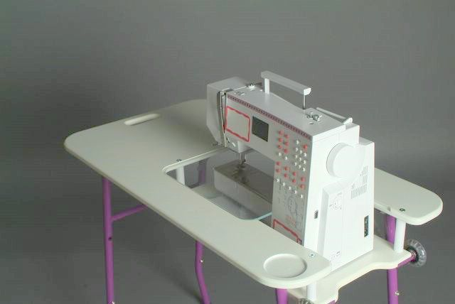 Sewezi Portable Sewing Table Cabinets And Storage Pinterest Beauteous Portable Sewing Machine Table On Wheels