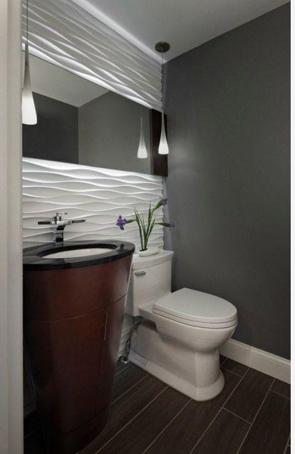 зеркало над унитазом в гостевом туалете Meme in 2018 Pinterest - Sanitarios Pequeos