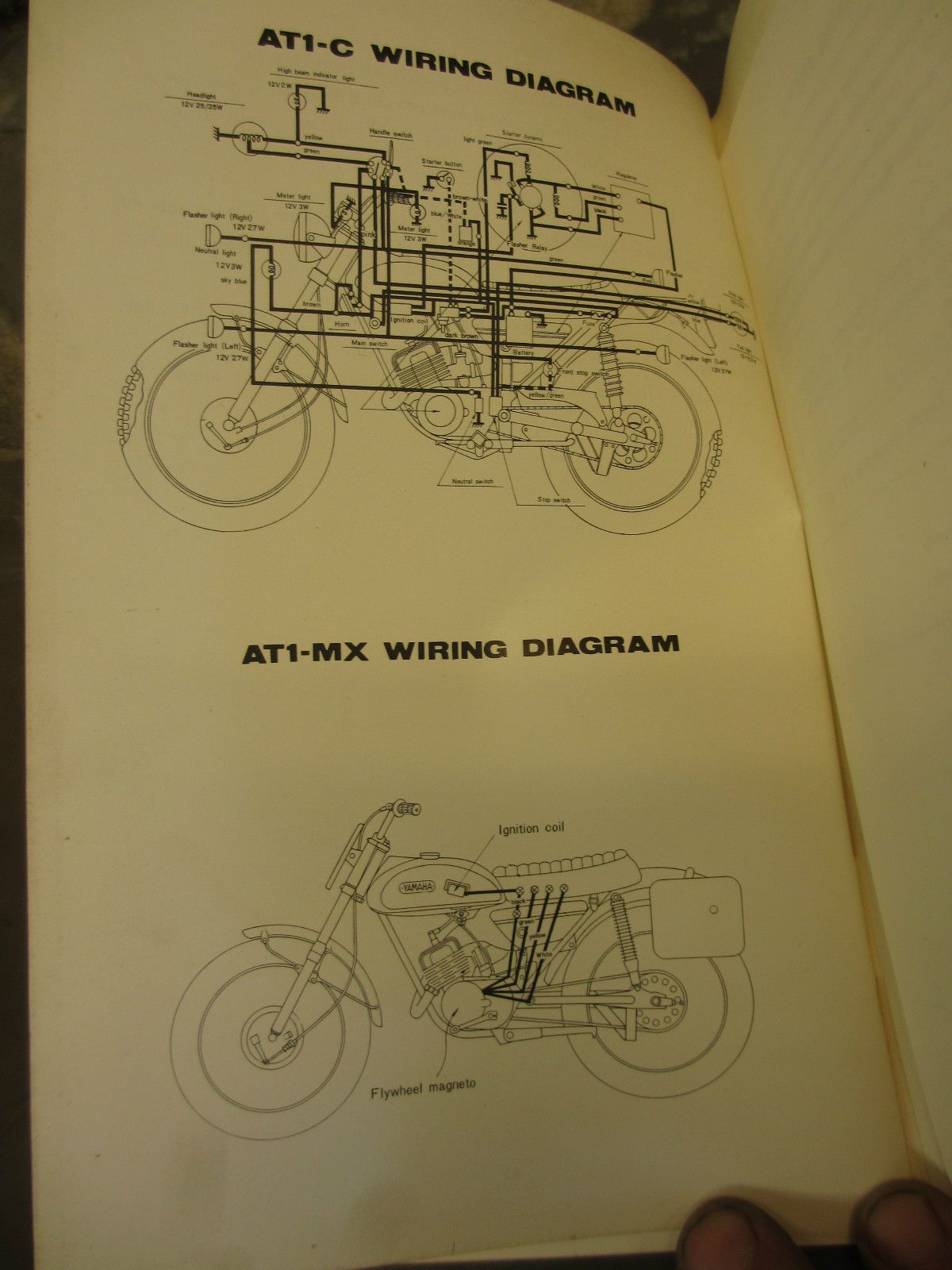 Yamaha Ct1 175 Wiring Diagram Layout Diagrams 1972 1971 At1 Wire Center U2022 Rh 207 246 102 26 1973 Dt Ct Motorcycle