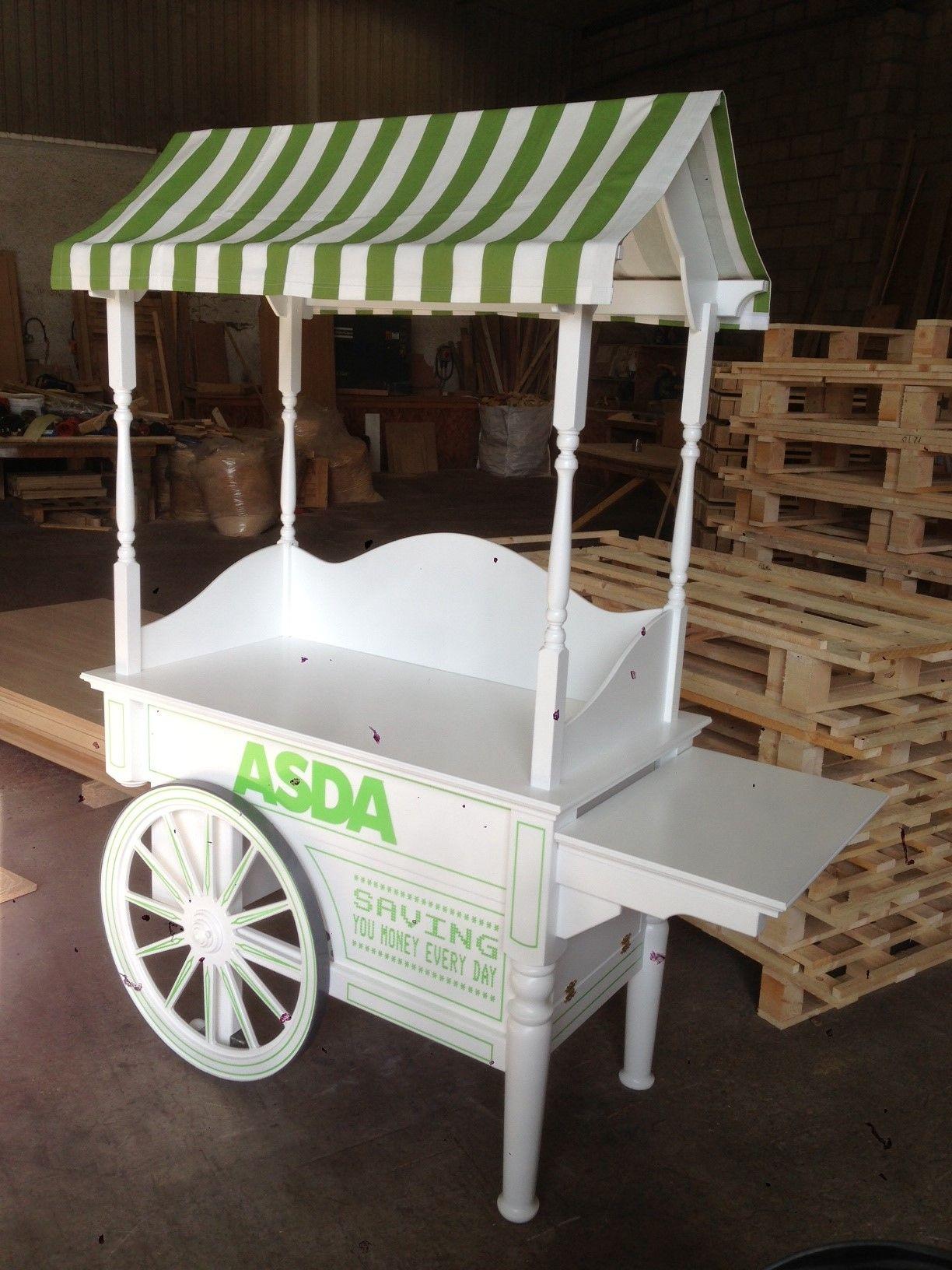 Candy cart บาน ราน อาหาร