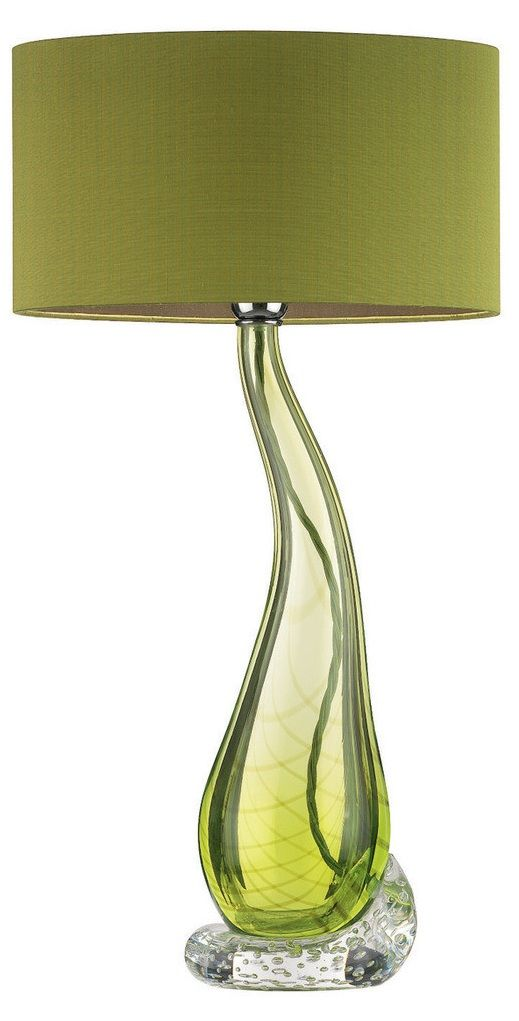 Designer Lime Green Teardrop Art Gl Lamp Sharing Luxury Home Decor