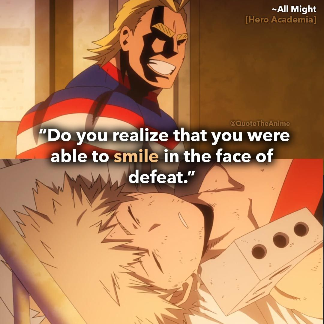 13 Powerful All Might Quotes My Hero Academia Images Hero Quotes Anime Quotes Inspirational Hero