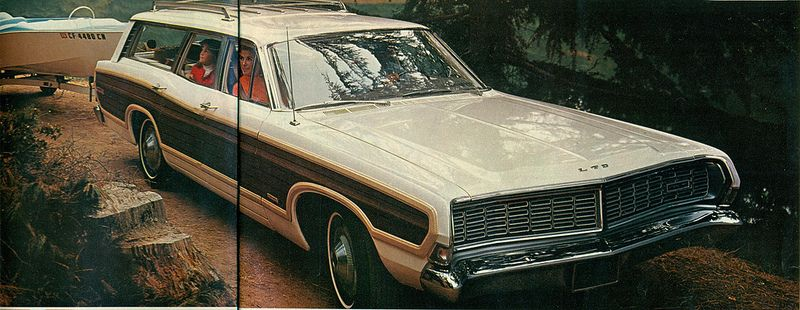 1968 Ford Country Squire Station Wagon Station wagon