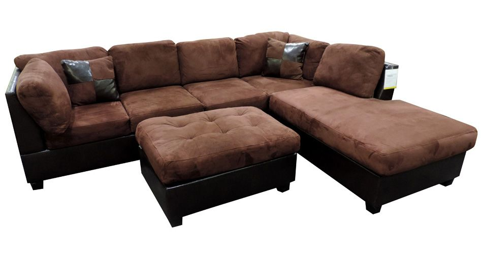 Merveilleux Sacramento Chocolate Sectional Sofa Set At GoWFB.ca | Urban Cali | Free  Shipping