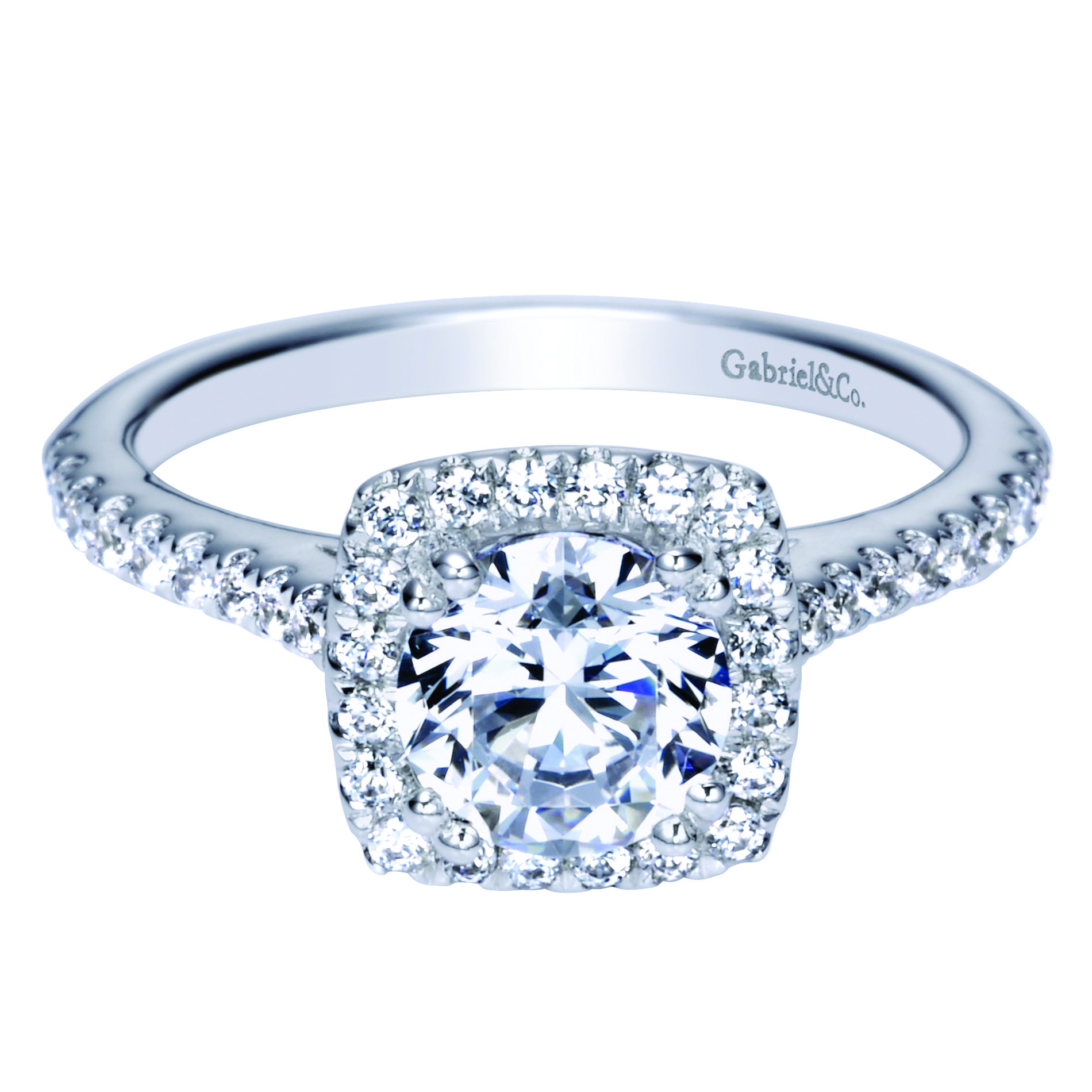 Gabriel diamond engagement ring at Carreras Jewelers Richmond VA