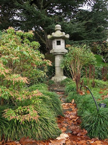 Asian garden sculpture
