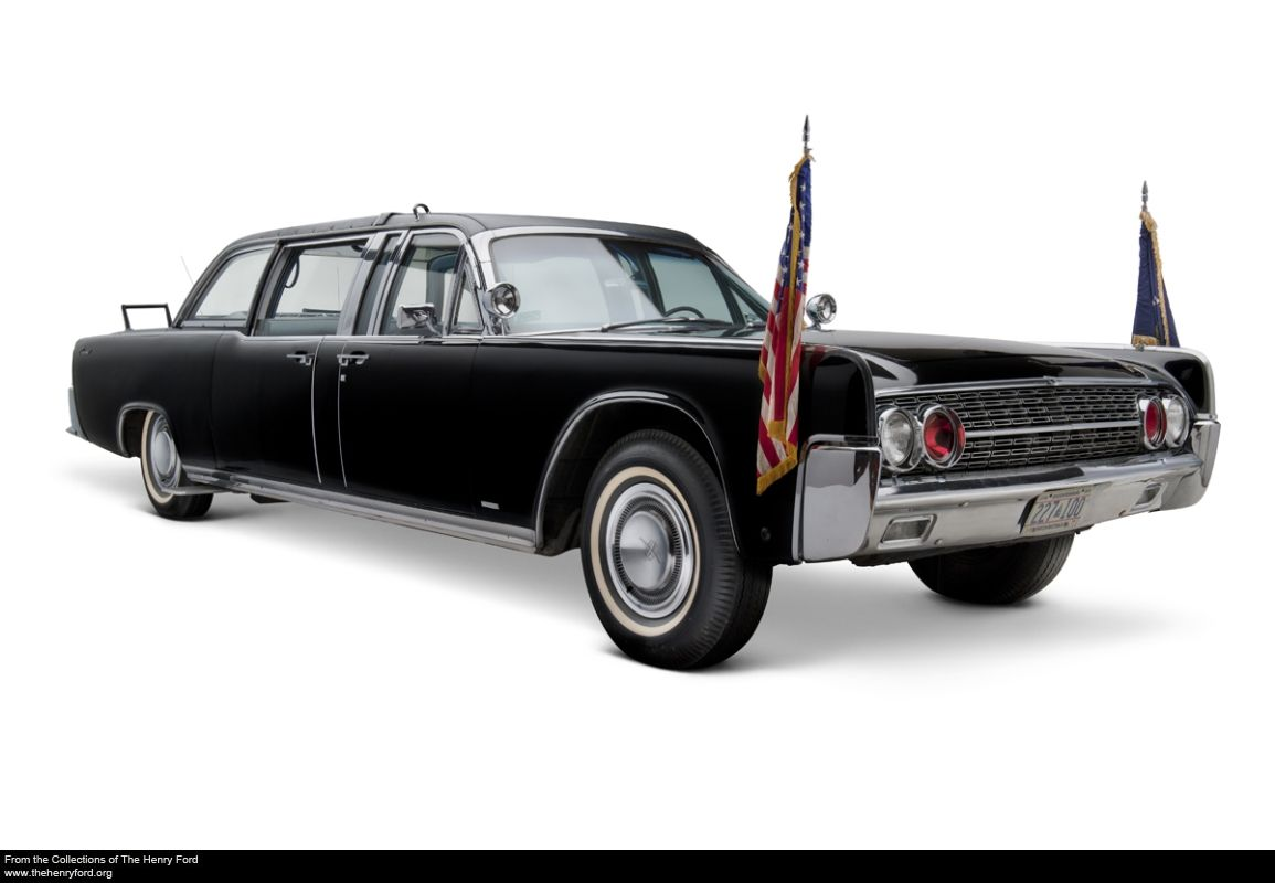 1961 lincoln continental presidential limousine used by. Black Bedroom Furniture Sets. Home Design Ideas