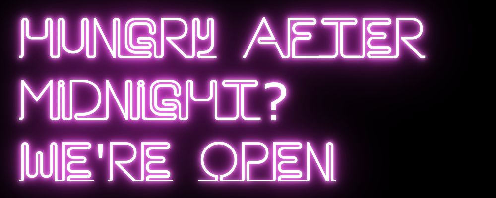 Our Guide To Places Open Late Satisfy Your Munchies Food Drink Culture Nightlife And Style Reviews City Nom