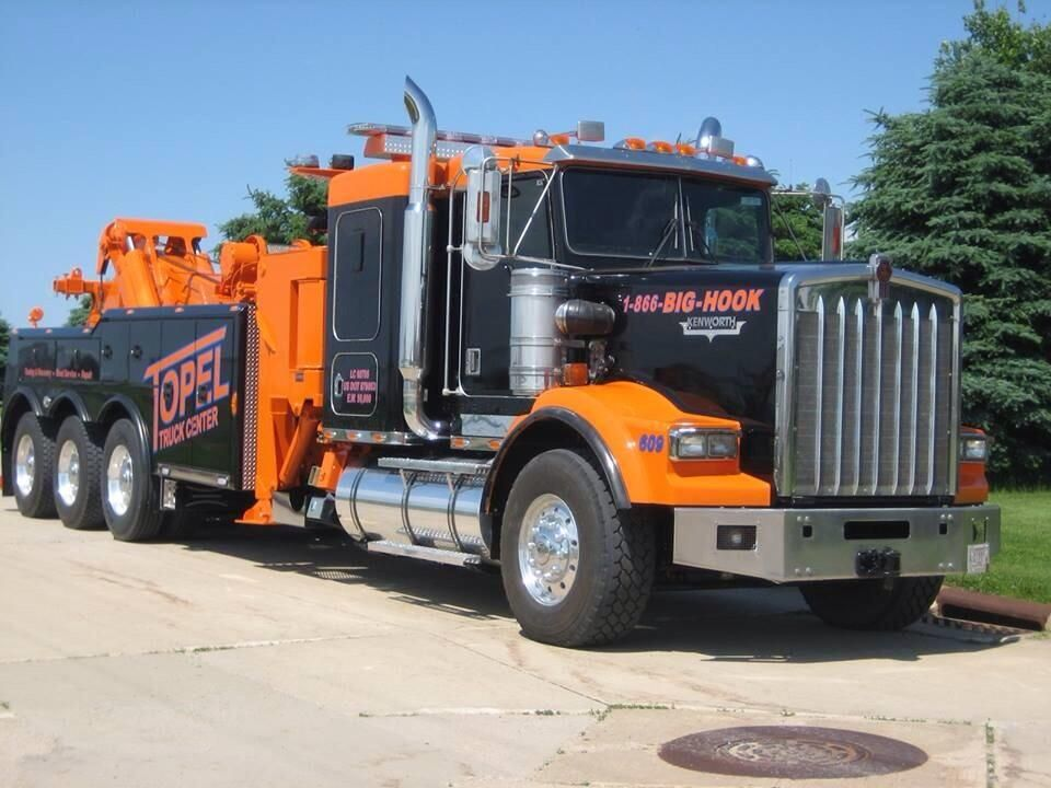 Son Camiones On Trucks Tow Truck Kenworth