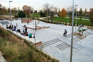 Tetuan Skatepark, Madrid, Spain.