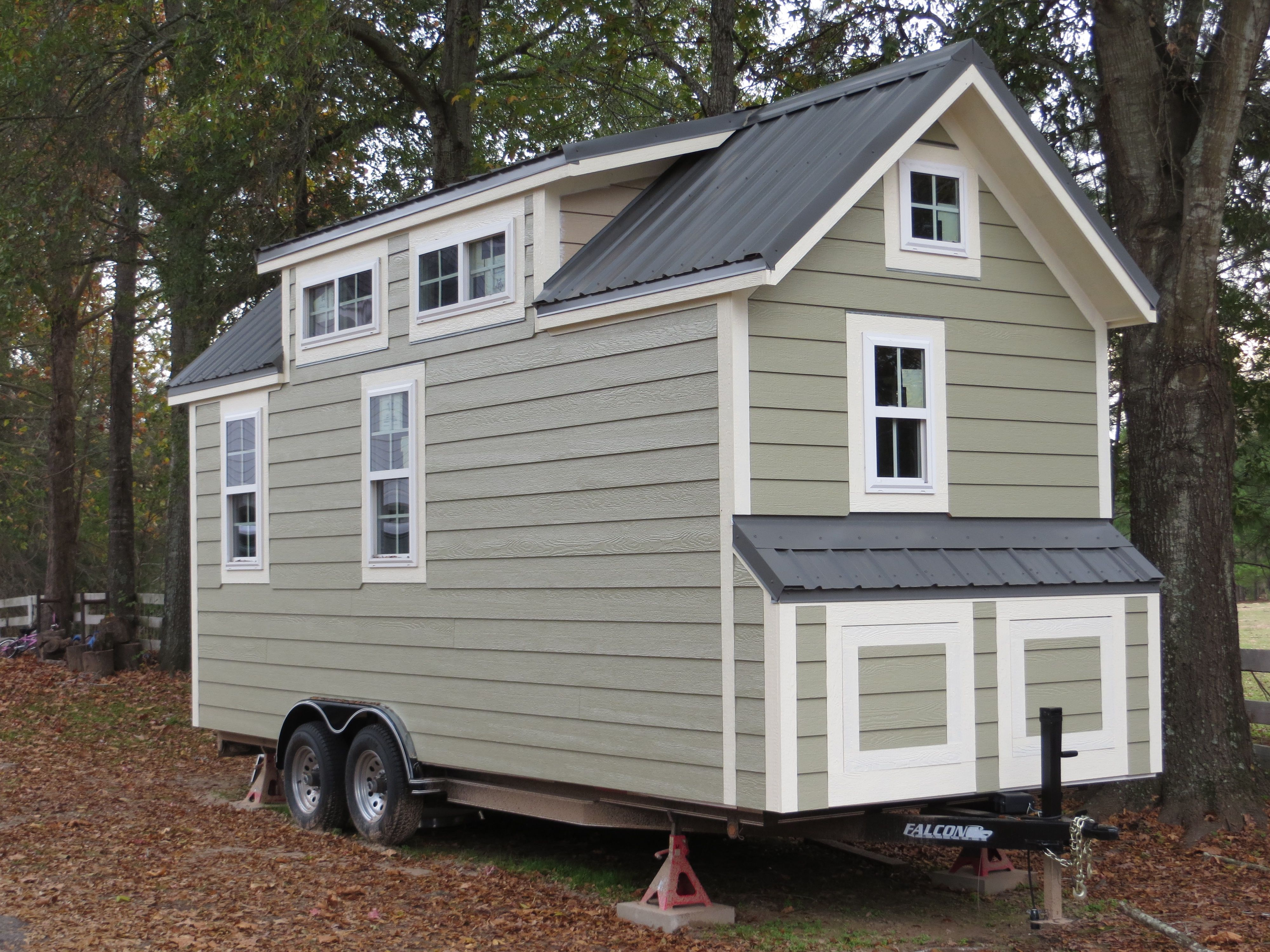 Completed Tiny House Shell For Sale   Tiny House Listings
