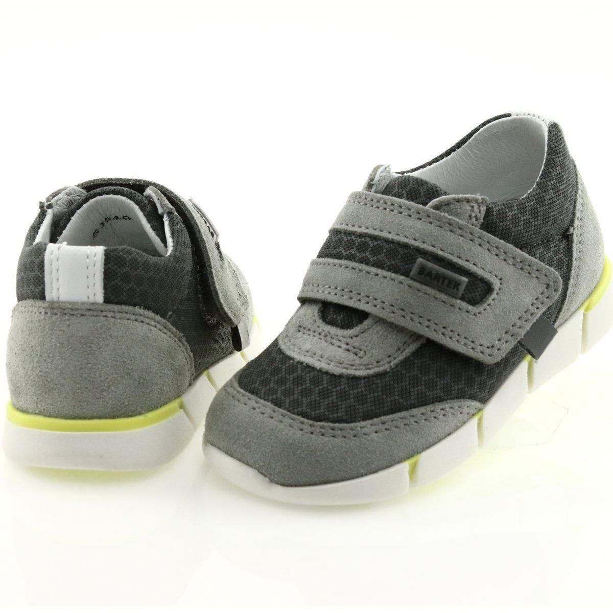 Buty Sportowe Na Rzep Bartek 51949 Szare Childrens Shoes Kid Shoes Girls Shoes