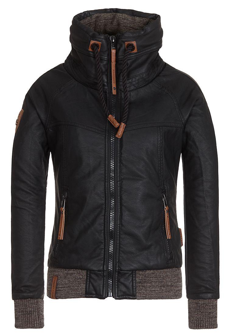 GLÖCKNER VON NOTRE DAME II BLACK Padded Faux Leather Jacket