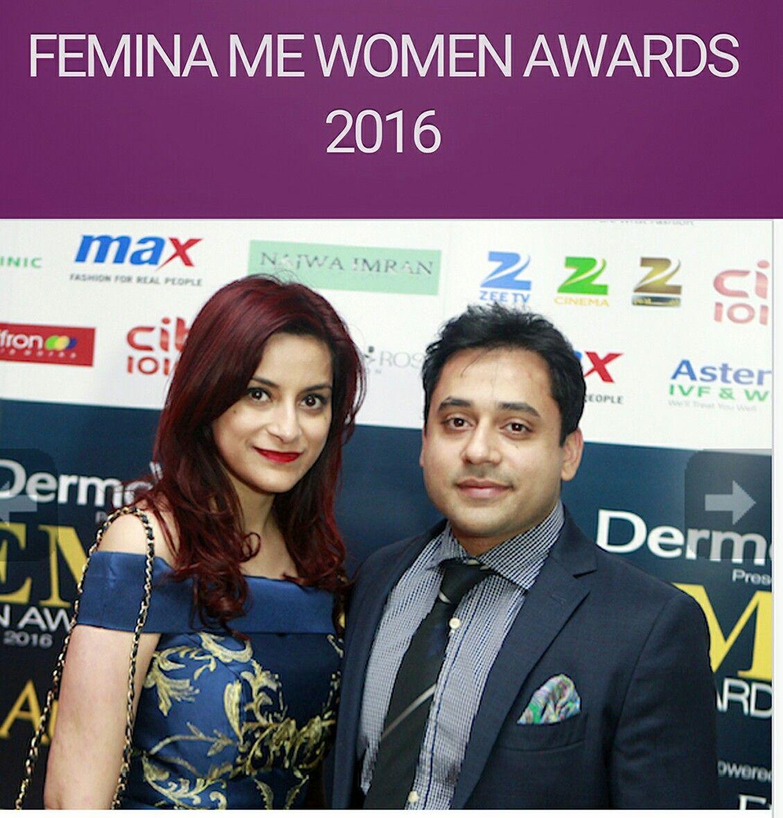 Salman Qureshi And Sara Japanwalla At The Femina Me Women Awards 2016 Stand Up Comedians Comedians Top Comedians