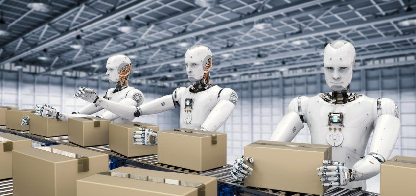 Amazon Effect Could Lead To U S Workers Replaced By Robots Engineering Challenge Machine Learning Robotics Companies