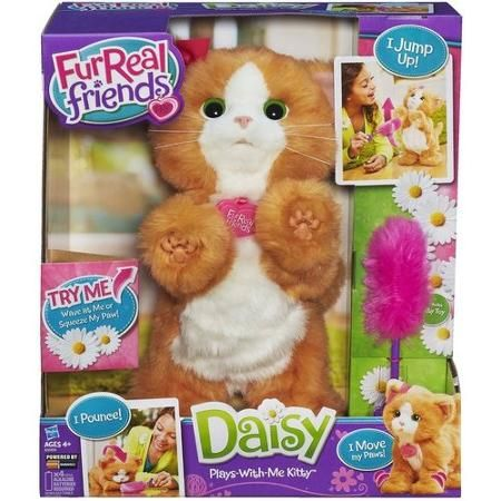 Furreal Friends Daisy Plays With Me Kitty Toy Walmart Com Fur