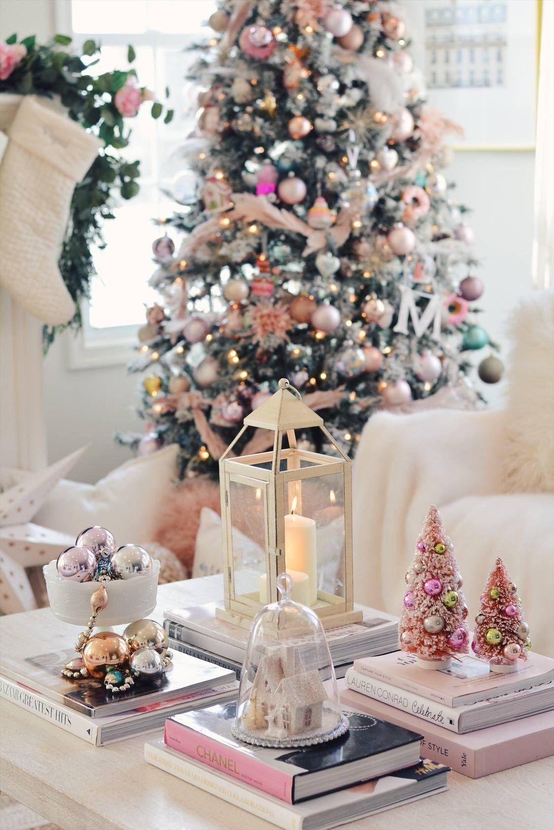 Elegant Christmas Pink Christmas Tree Decor The Pink Dream In 2020 Elegant Christmas Decor Rose Gold Christmas Decorations Pink Christmas Decorations