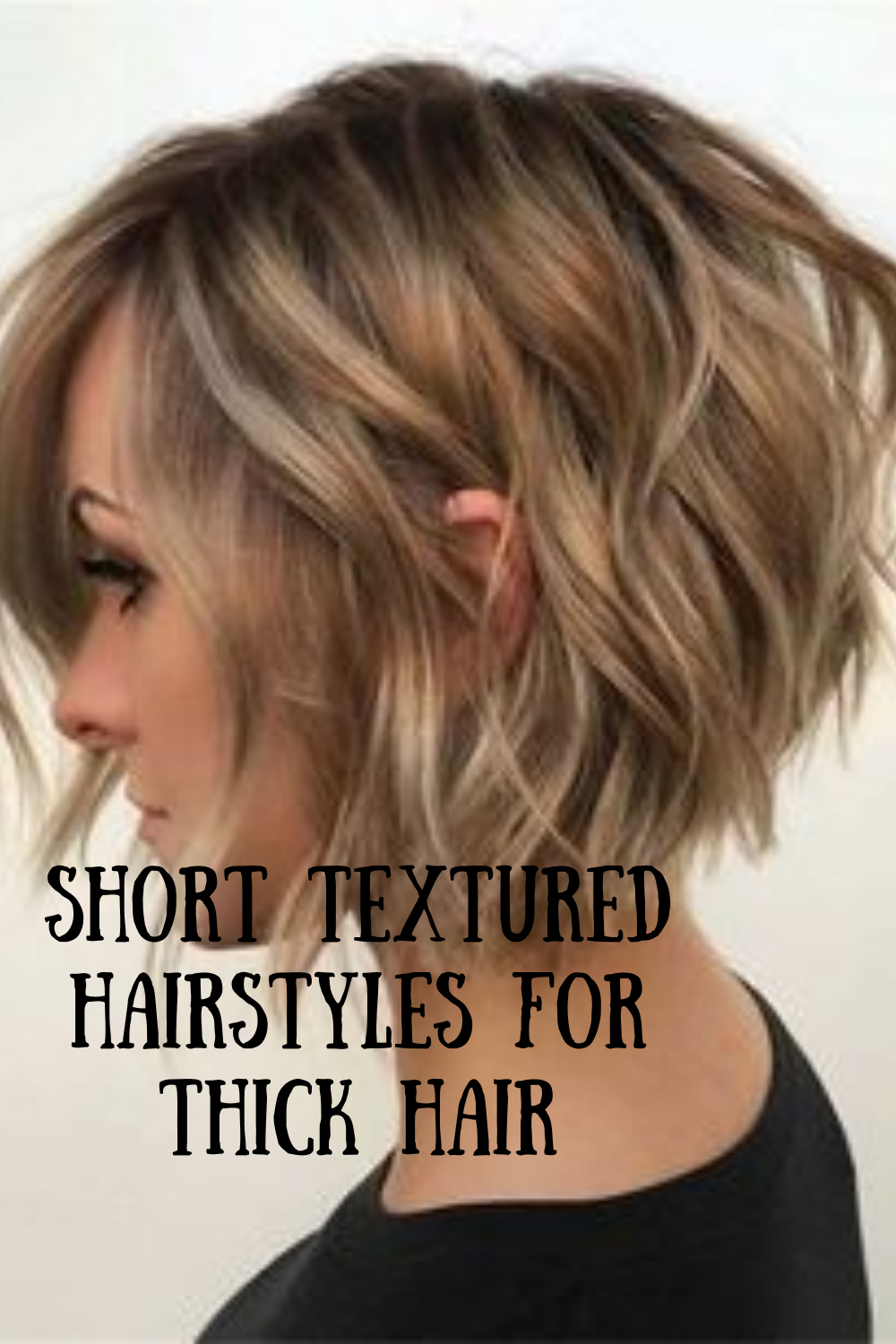 26++ Choppy hairstyles for thick hair trends