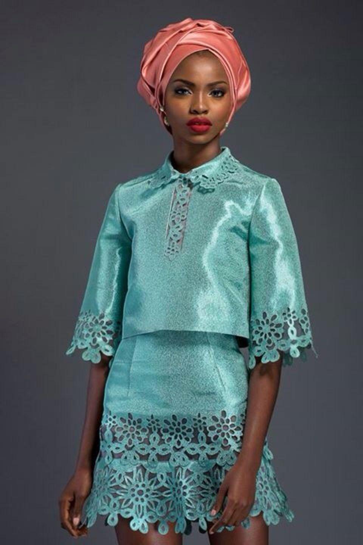 Lace dress nigeria  LOOKBOOK  Komole Kandids Series  by House of  Studio Africa