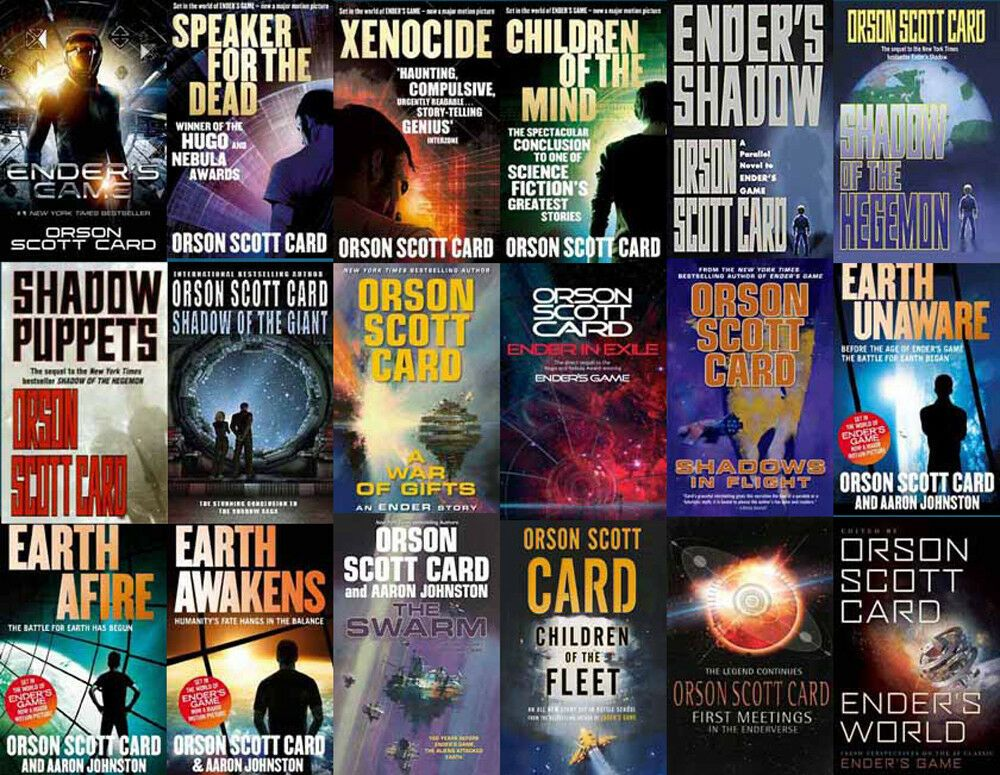The Enders Game Series By Orson Scott Card 19 Mp3 Audiobook Collection Audio Books Ideas Of Audio Books Ender S Game Orson Scott Card Ender S Game Book
