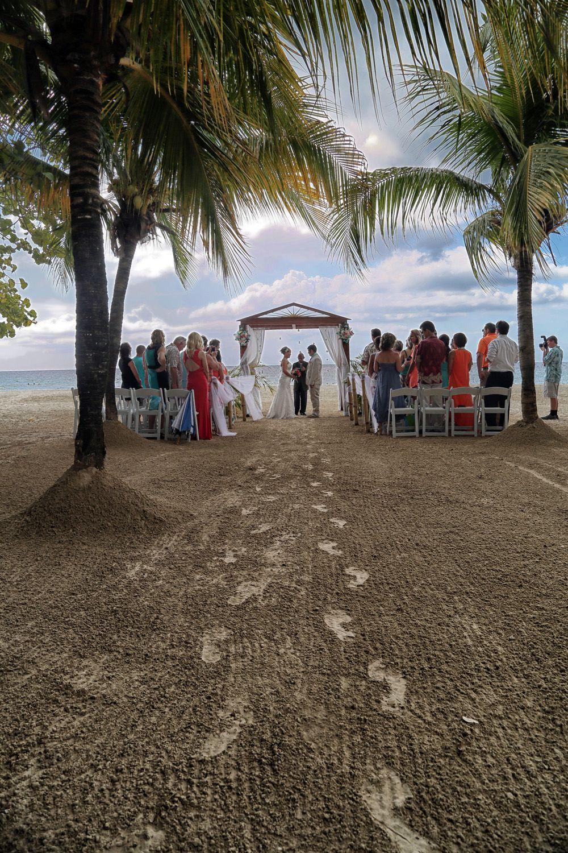 Beautiful Beach Wedding At S Swept Away Negril Jamaica