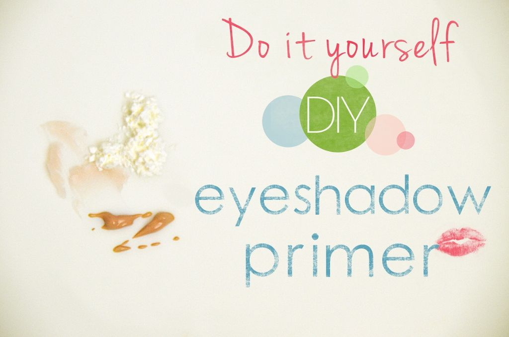 Make your OWN eyeshadow primer for pennies! It REALLY WORKS ...