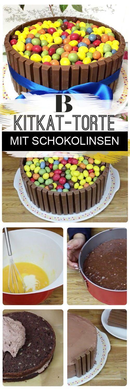 Kitkat Torte Mit Smarties Unglaublich Gut Rezept Essen