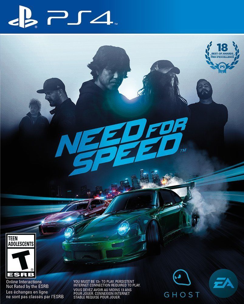 Sony Playstation 4 Need For Speed Game Car Race Tuner Drift