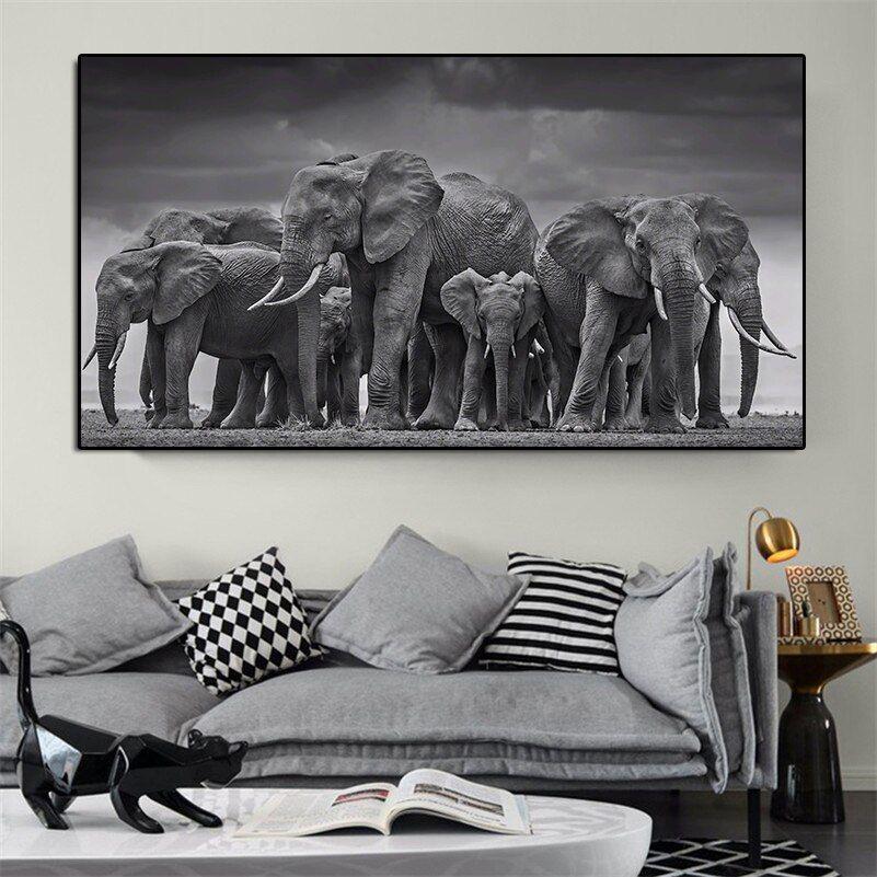 38++ Elephant living room decor information