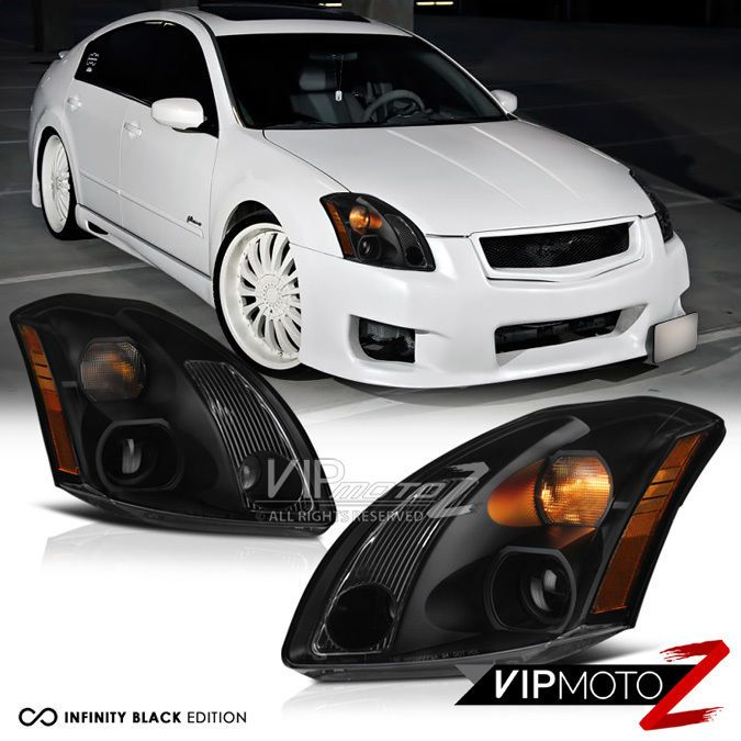Headlights For 2006 Nissan Altima: Details About For 04 05 06 Nissan Maxima JDM Crystal Clear