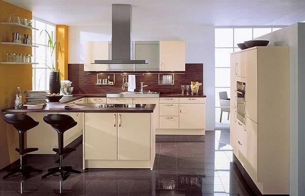 Küche Moderne Innenarchitektur Moderne Design Linien (600×