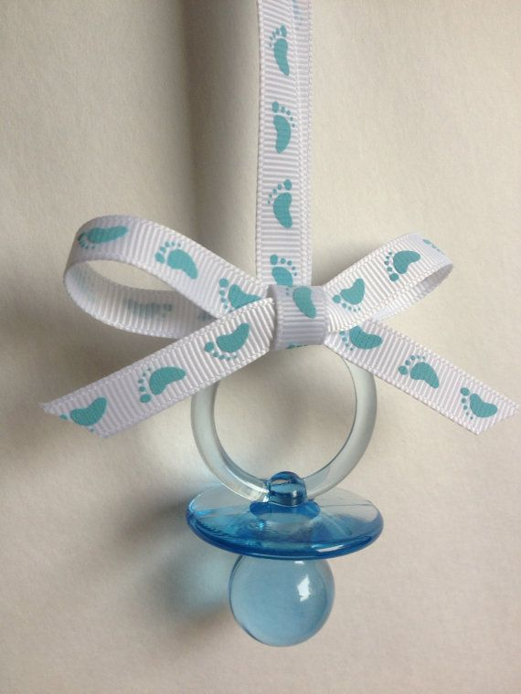 Baby Shower Pacifier Necklace/ One Dozen By MarcenariPartyDecor, $7.99
