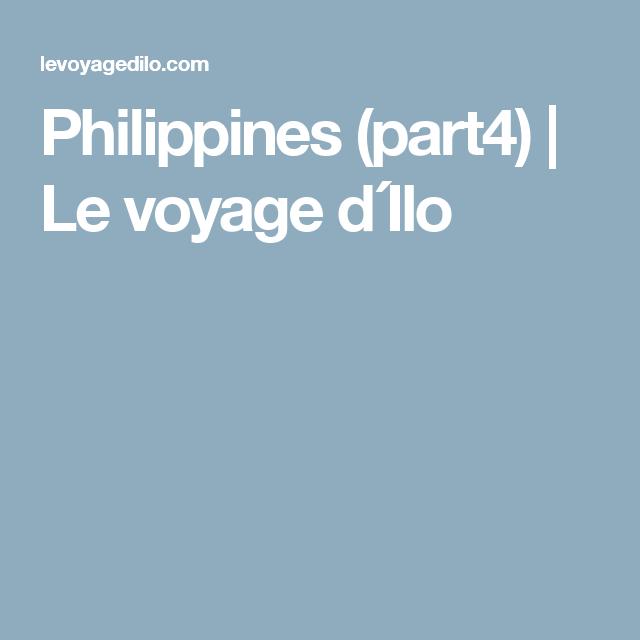 Philippines (part4) | Le voyage d´Ilo