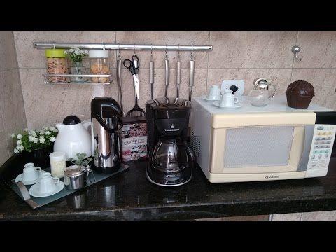 Cantinho do café e Máquina de bebidas B.Blend - YouTube