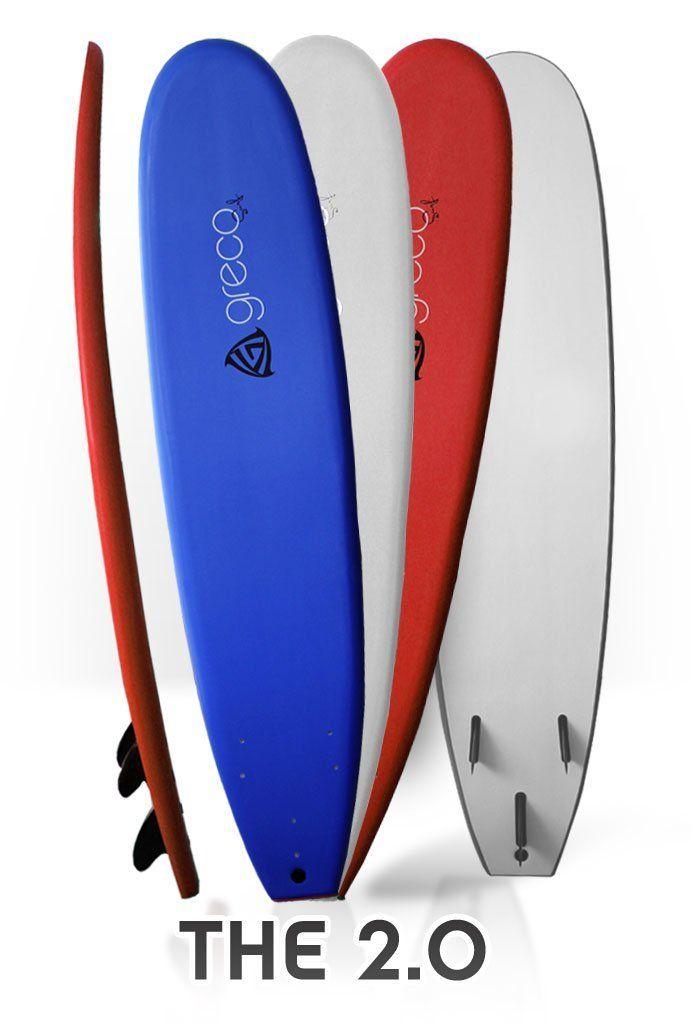 Amazon Com 8 Performance Soft Top Foamboard Long Surfboard Foam