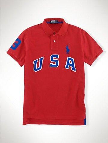 2013 ralph lauren US Big Pony Polo shirts