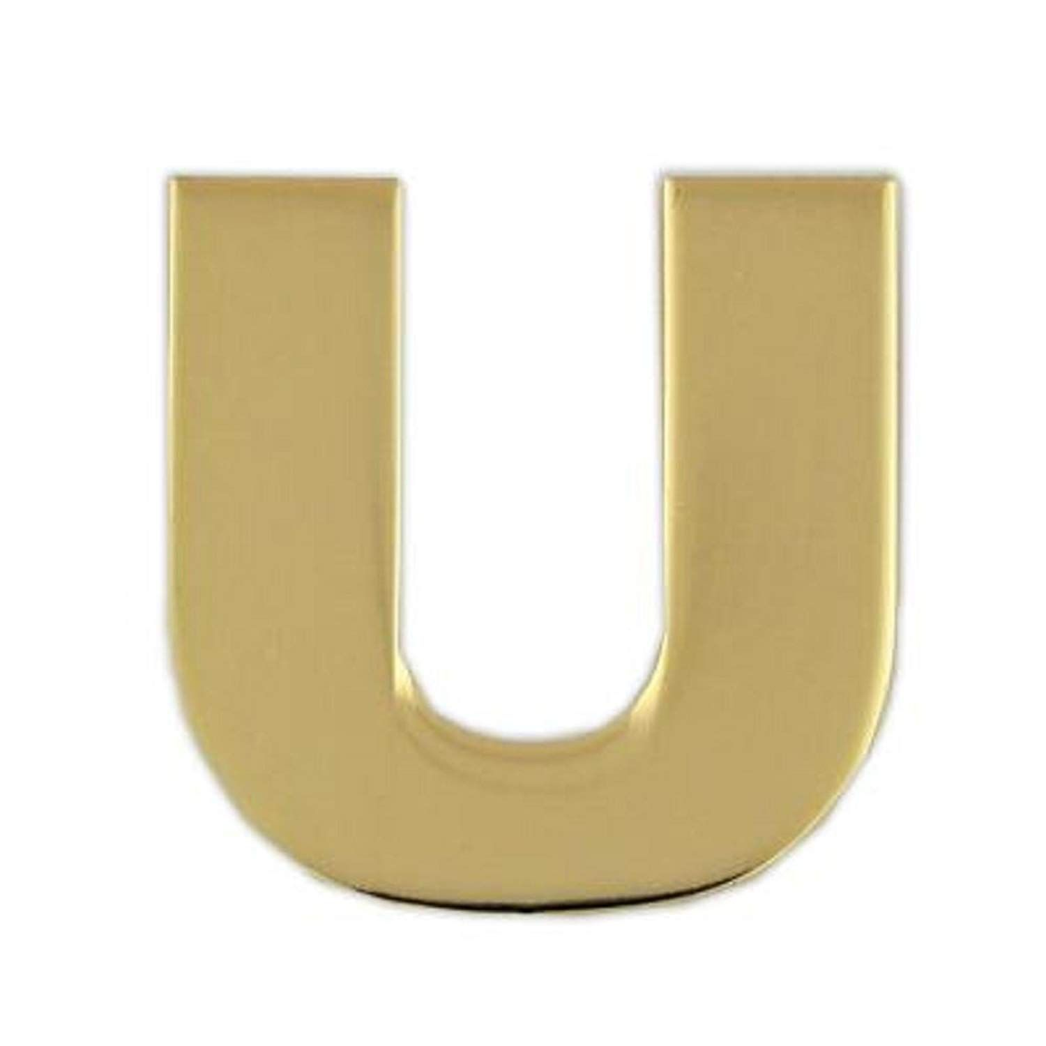 PinMart Gold Plated Alphabet Letter D Lapel Pin