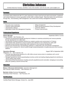 Beautiful Resume Template Styles | Resume Templates | MyPerfectResume.com
