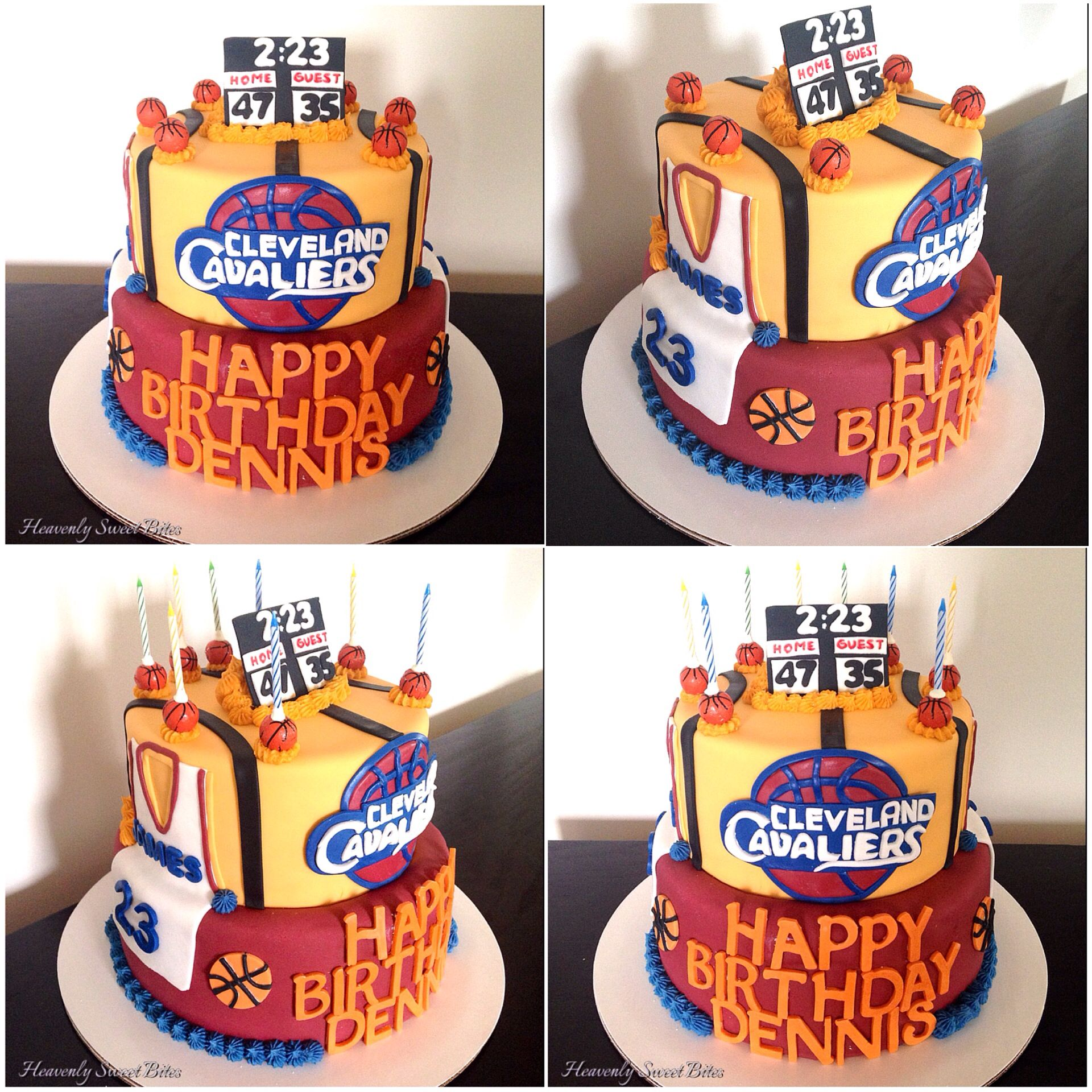 Lebron James Face Cake