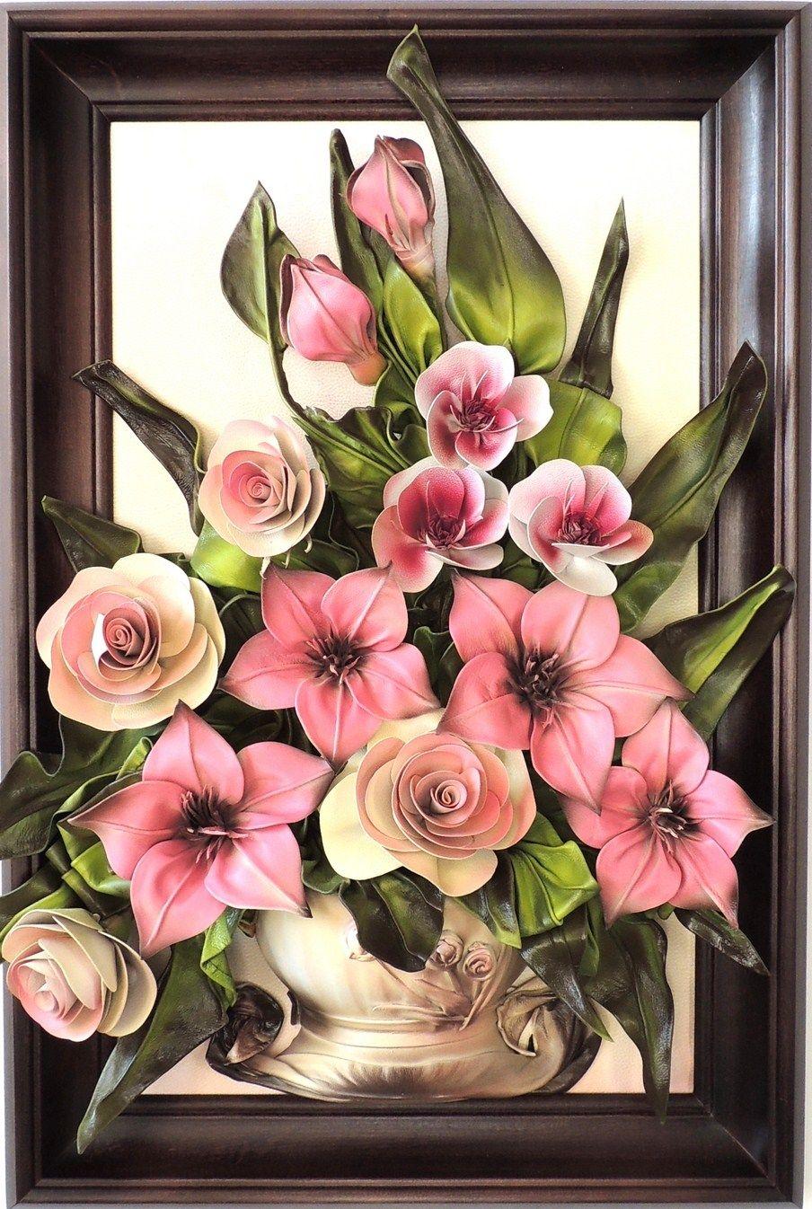 картина с цветами своими руками вкусные подарки индивидуальным