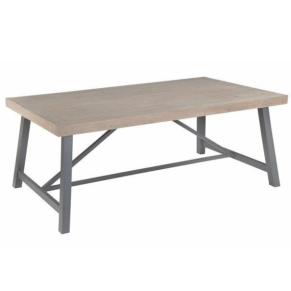 Industrial Lowry Reclaimed Wood Extending Dining Table   The Latest  Industrial Product Launch, Handcrafted Using