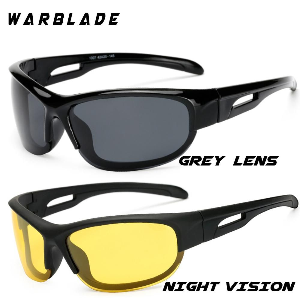 Men/'s Aluminum Polarized Sunglasses Outdoor Driving Night Vision Fishing Eyewear