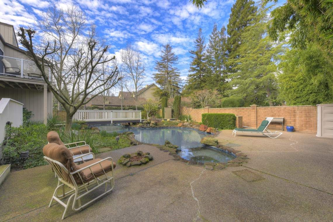 Backyards Are For Relaxing Home In Sacramento