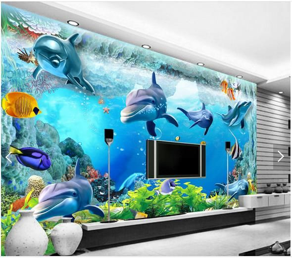 Custom 3d Photo Wallpaper Kids Mural Living Room Sofa Tv Backdrop Wall Paper Car Breaking Wall Kids Picture Wallpaper Home Decor With Traditional Methods Painting Supplies & Wall Treatments