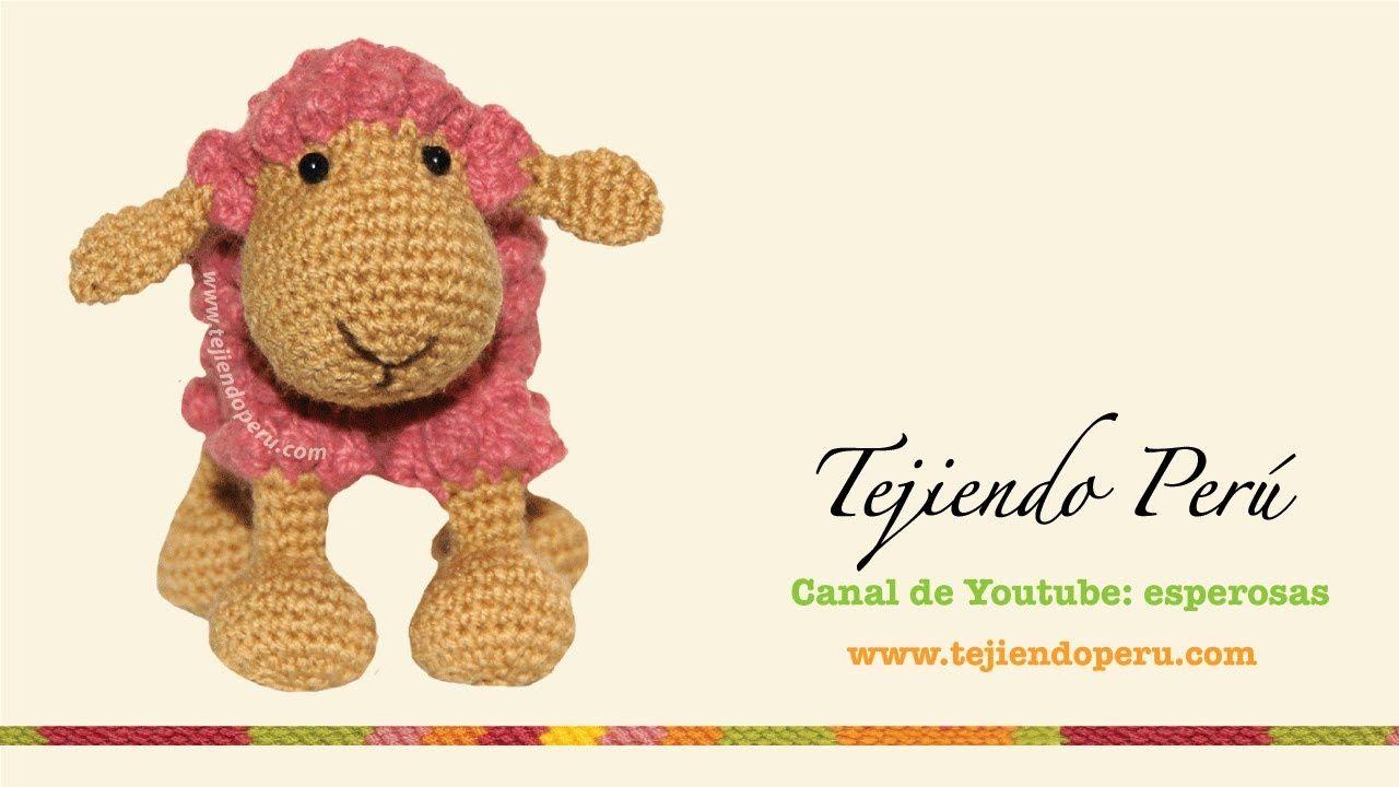 Por Esperanza Rosas: Ovejas tejidas a crochet (amigurumi) Parte 2 ...