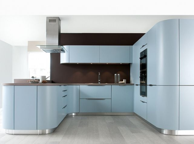 cuisine color e bleu clair schmidt kitchen ideas for me pinterest interior architecture. Black Bedroom Furniture Sets. Home Design Ideas