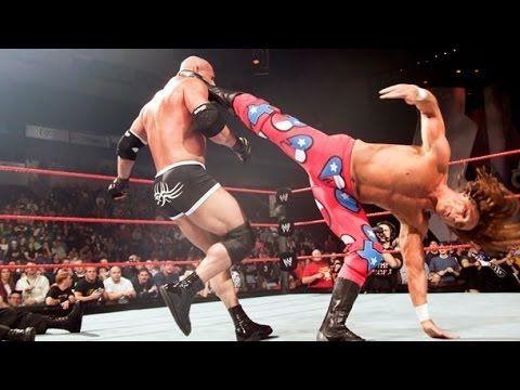 Shawn Michaels Vs Goldberg World Heavyweight Championship Wwe