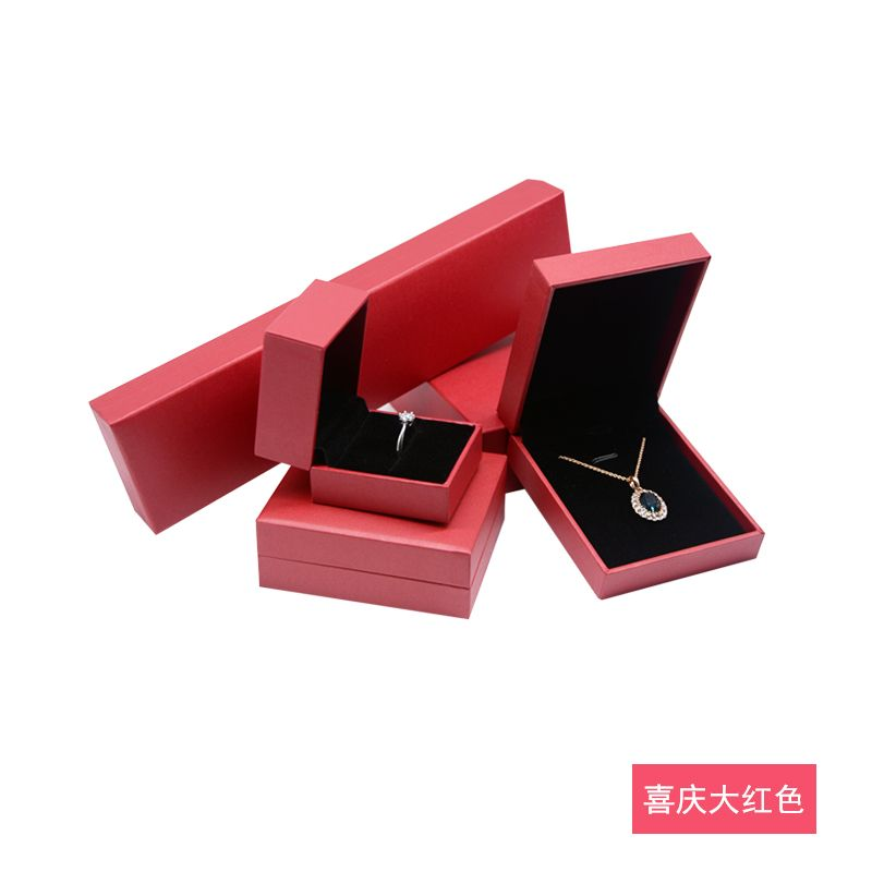 China supplier sales custom luxury paper jewelry box