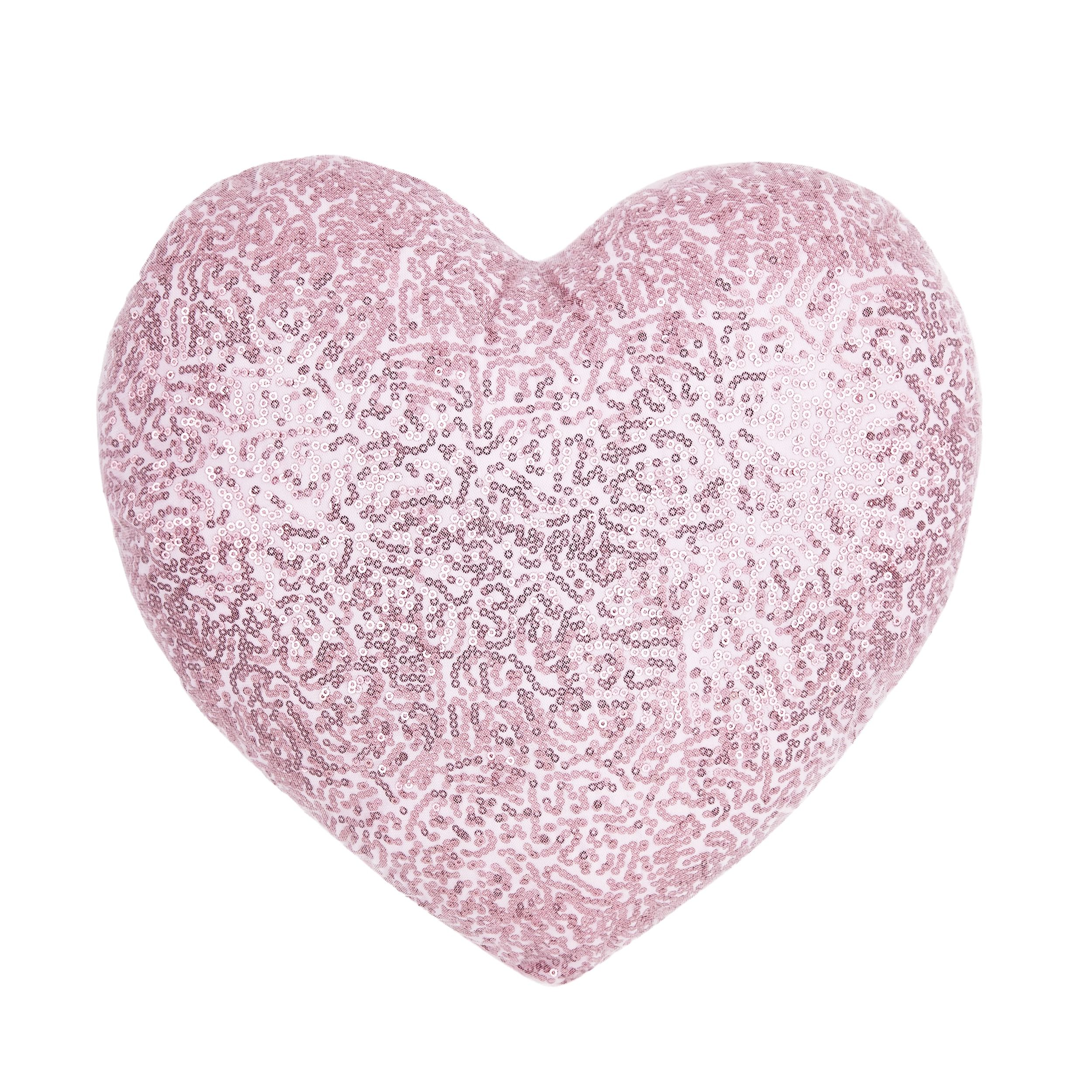 Heart Shaped Pillow with more hearts